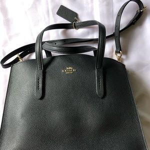 Coach Charlie Carryall in Black